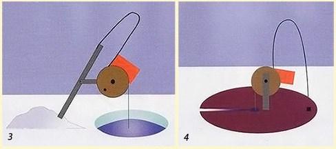 Как правильно устанавливать кружки на щуку видео