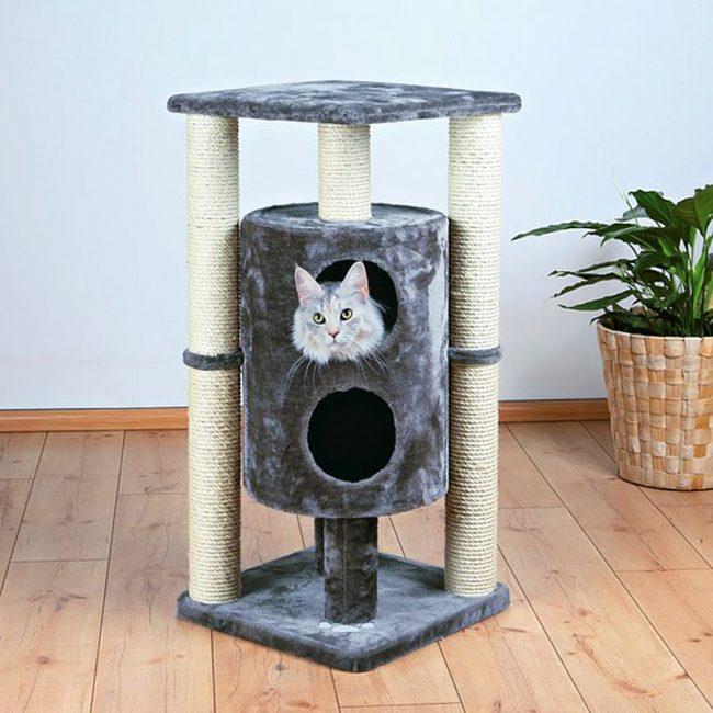 Такая когтеточка обязательно разнообразит досуг кошки