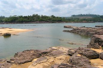 Река Тапажос, Бразилия.
