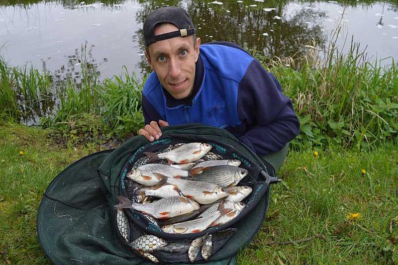 Ловля крупной плотвы на малых реках. Фото 7
