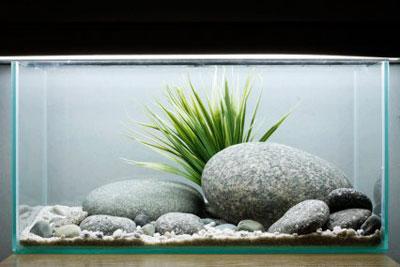 добавляюь искусственное растение в оформление